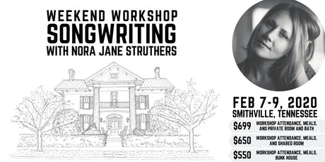 Weekend Songwriting Workshop with Nora Jane tickets