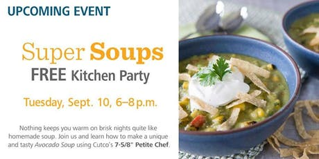 Free Kitchen Party - Super Soups tickets