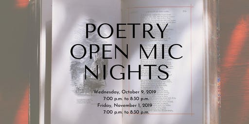 Poetry Open Mic Night