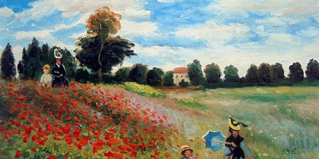 Online Party - Paint Monet's Poppies! tickets