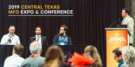 2019 Central Texas Manufacturing Expo & Conference tickets