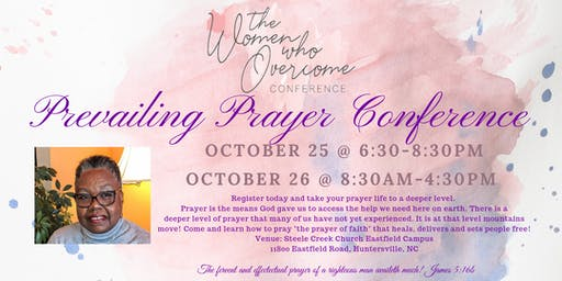 The Women Who Overcome 2019 Prevailing Prayer Conference