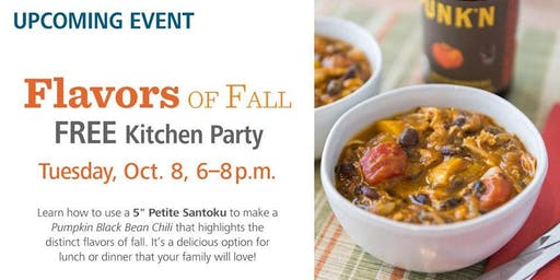 Free Kitchen Party - Flavors of Fall