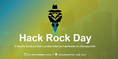 Hack Rock Day CDMX entradas