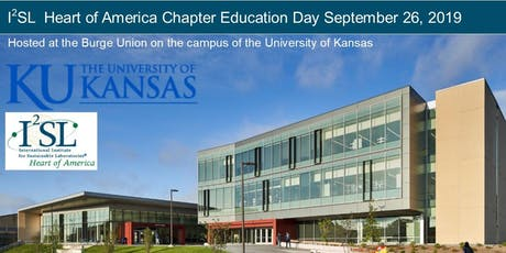 2019 I2SL Education Day - Heart of America Chapter tickets