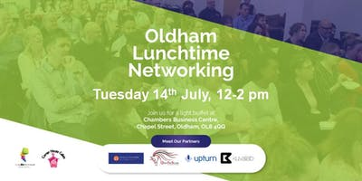 Oldham DBFY Lunchtime Networking - Sponsored by Corner House Cakes