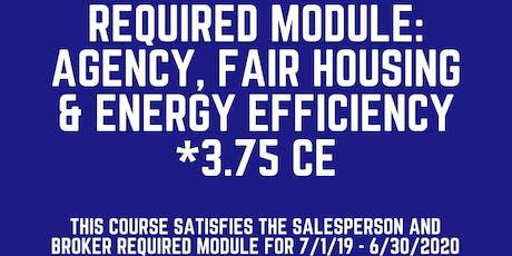 Required Module: Agency, Fair Housing & Energy Efficency tickets
