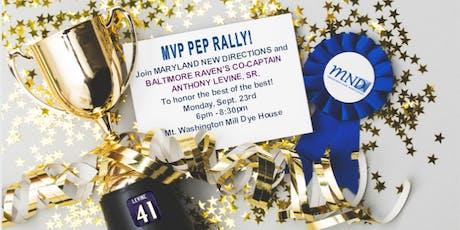 MND's MVP Pep Rally!!  tickets