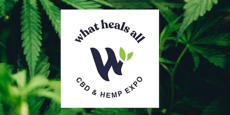 What Heals All CBD & Hemp Expo tickets