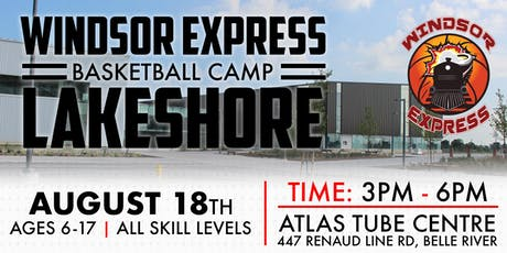 Windsor Express Summer Basketball Camp Lakeshore tickets