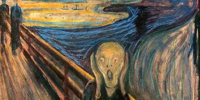 Paint The Scream! + Wine & Food!