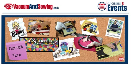Martelli Sewing + Quilting Tour | Palm Harbor, FL
