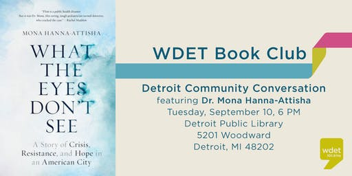 WDET Book Club: Detroit Community Conversation
