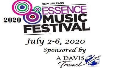"2020 Essence Festival ""Dare to Care"" Girls & Guys Trip 3 tickets"