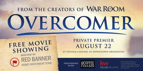 """OVERCOMER"" Exclusive Private Premier tickets"