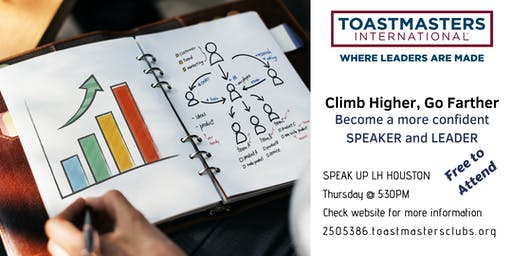 Toastmasters: Speak Up LH Houston