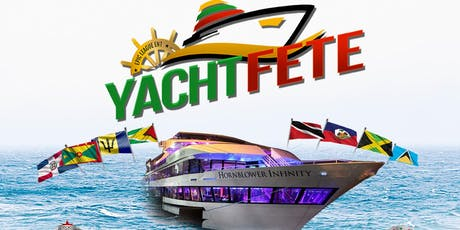 Yacht Fete Reggae Vs. Soca Palooza on The Hornblower Infinity *August 23rd* tickets
