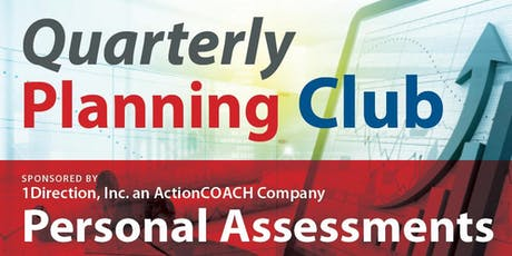 Quarterly Planning Club tickets