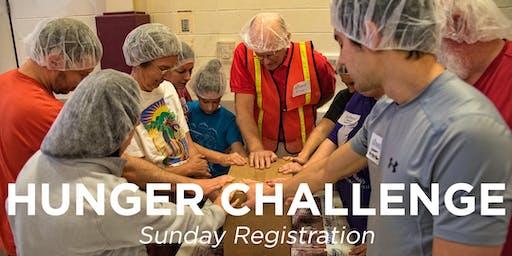 Sunday Registration for Eastminster - Wichita Hunger Challenge
