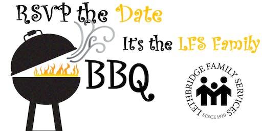 Lethbridge Family Services Staff BBQ