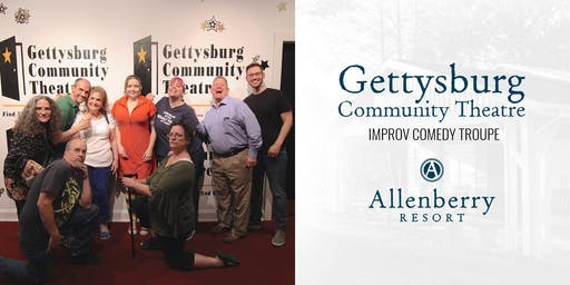 Gettysburg Community Theater Improv Comedy at Allenberry Resort