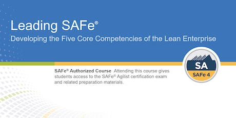 Leading SAFe® Certification Training in Calgary, Canada tickets