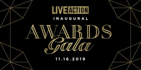 Live Action - Life Awards Gala 2019 tickets