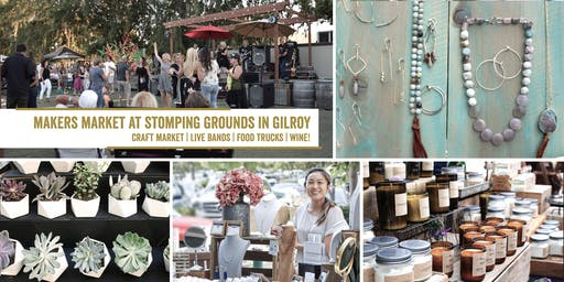 Makers Market at the Stomping Ground | A monthly open air market featuring live music and food trucks