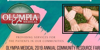 OLYMPIA MEDICAL 2019 ANNUAL COMMUNITY RESOURCE FAIR