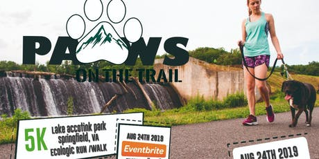 5K Paws on the Trail  tickets