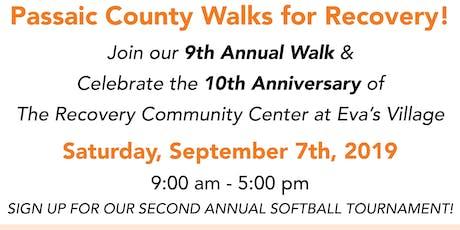 Passaic County Recovery Walk tickets