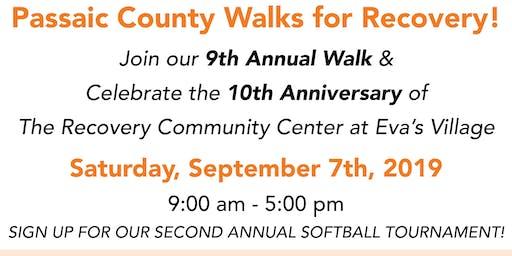 Passaic County Recovery Walk