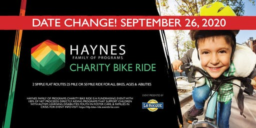 Haynes Family of Programs Charity Bike Ride