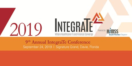 2019 Integrate  tickets