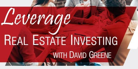 MEGA TEAM MEETING: Leverage Real Estate Investing with David Greene tickets