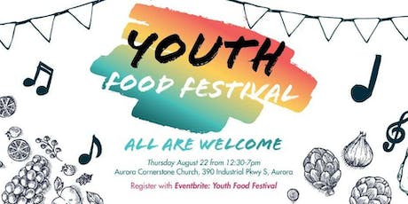 Youth Food Festival tickets