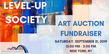Level-Up Society: POC Art Auction Fundraiser tickets