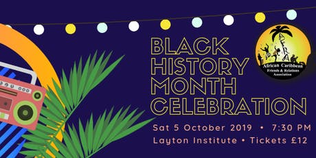 AFRA: Black History Month Celebration 2019 tickets