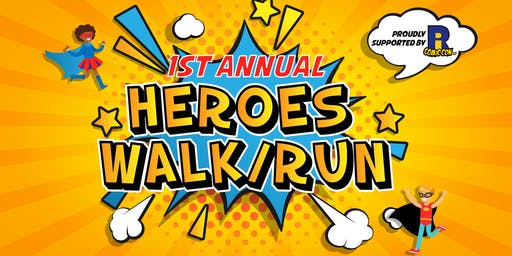 1st Annual Hero's Walk/Run