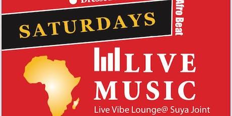 Live Vibe Lounge @SUYAJIONT tickets
