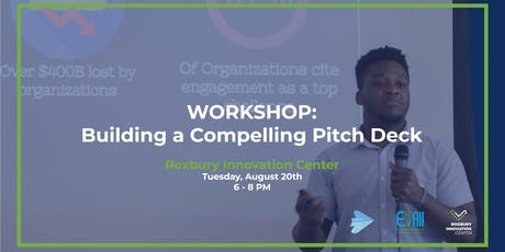 Building A Compelling Pitch Deck Workshop  tickets