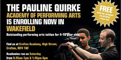 The Pauline Quirke Academy Wakefield FREE Open day