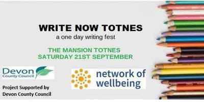 Write Now Totnes: Finding your Inner Storyteller