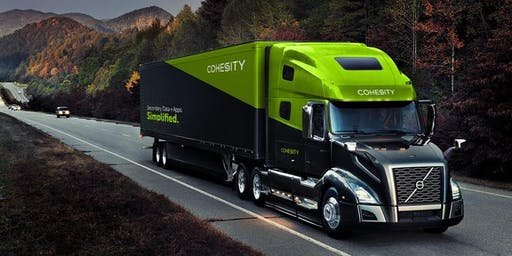 Cohesity Mobile Demo Center Open House