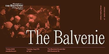 The Balvenie Whisky Tasting Dinner tickets