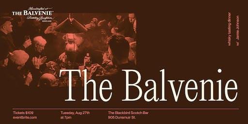 The Balvenie Whisky Tasting Dinner
