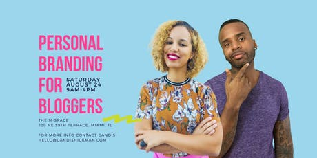 Personal Branding for Bloggers Intensive tickets