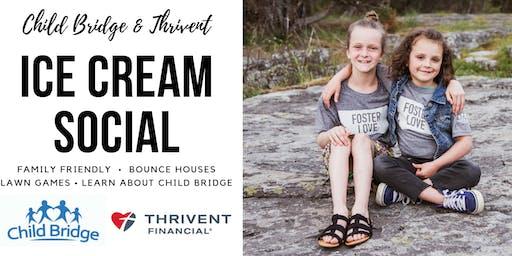 Child Bridge and Thrivent Ice Cream Social