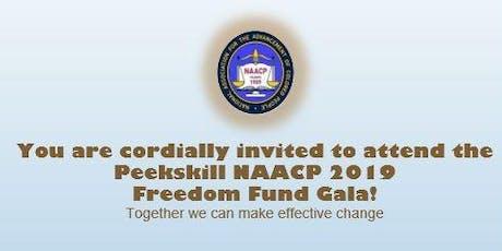 Peekskill NAACP 2019 Freedom Fund Gala tickets