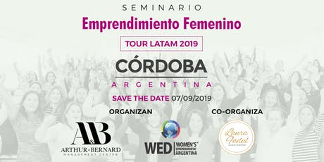 Seminario Emprendimiento Femenino TOUR LATAM 2019 Cordoba entradas